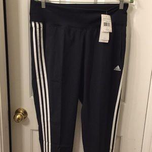 "Adidas ""Derby"" track pant w/ wide waistband Sz L!"